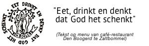 Logo Eet, drinkt en denkt…
